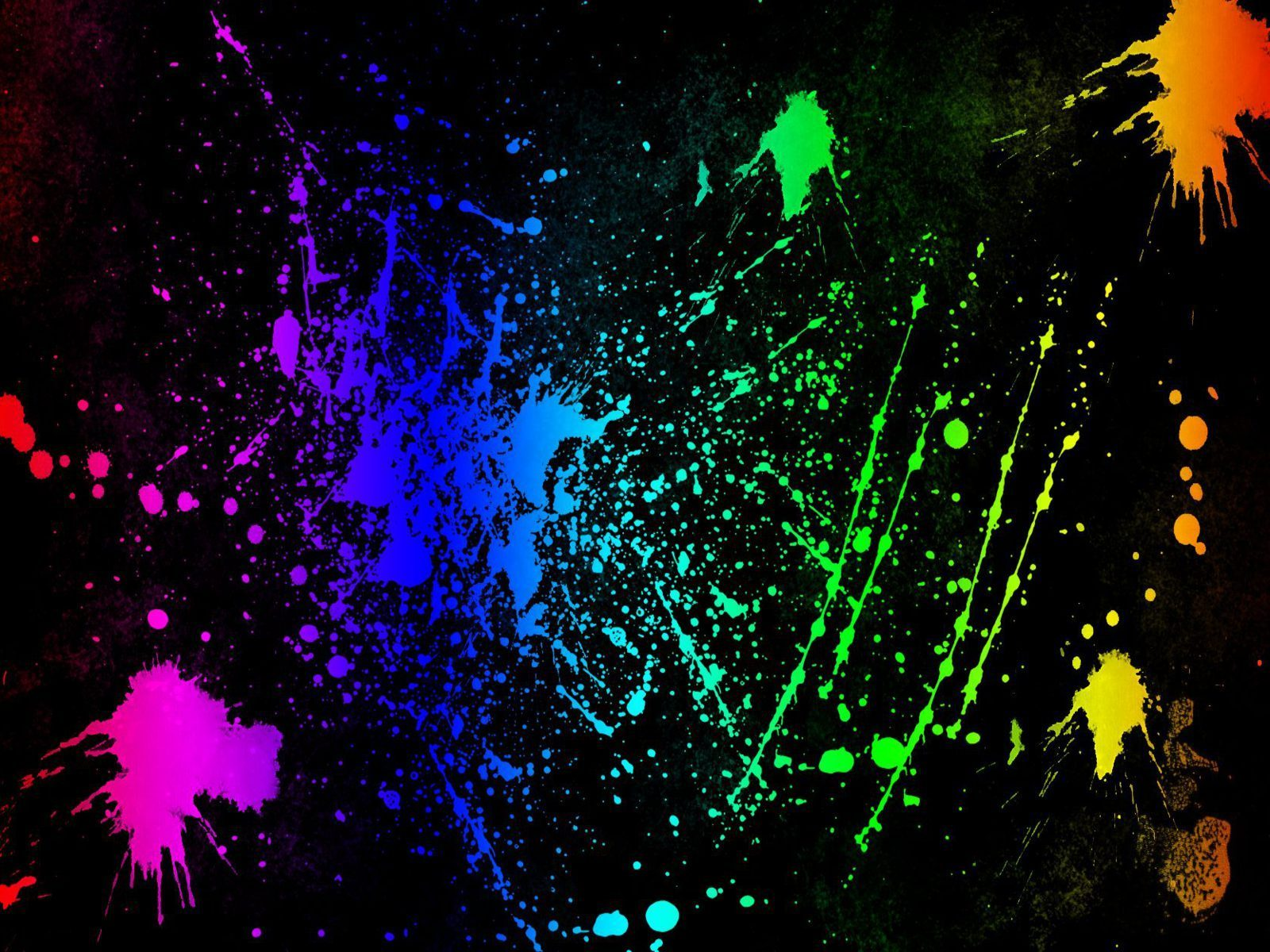 Neon Colors Rock Images Splatter HD Wallpaper And Background Photos