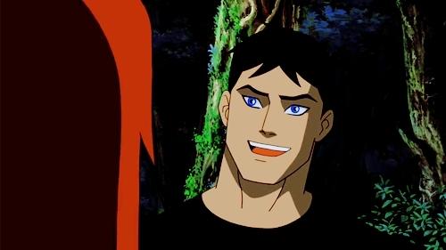 Superboy Smiling
