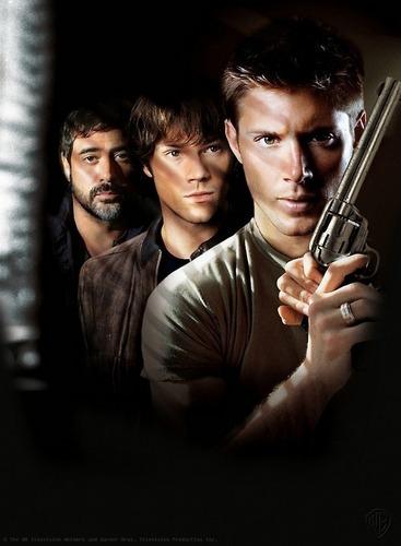 sobrenatural (John, Sam, and Dean Winchester)