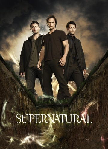 Supernatural Hunters wallpaper with a business suit called Supernatural (Season 6 Promotional Poster)
