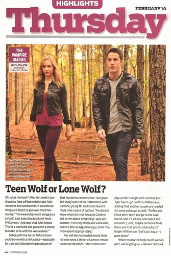 Teen lupo o Lone Wolf?