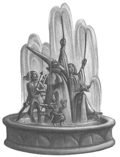 The fountain of Magical Brethren