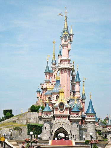 The Sleeping Beauty गढ़, महल @ Disneyland, Paris