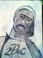 Thug for life - tupac-shakur fan art