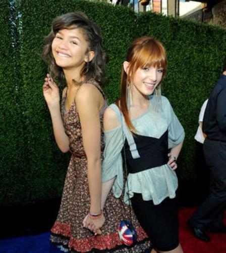 """Zendaya And Bella Avery Thorne At The Premiere Of """"Gnomeo And Juliet"""""""