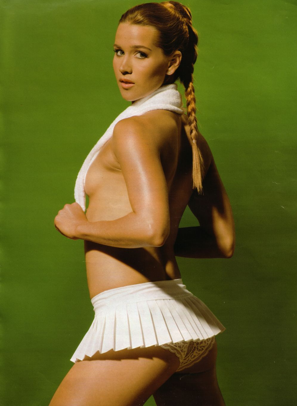 Ashley Harkleroad In Playboy Tennis