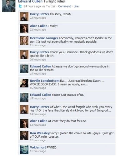 hp vs twilight facebook