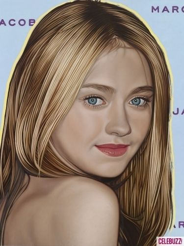hyperreal portraits Von Richard Phillips