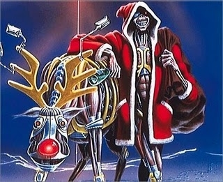 iron maiden christmas