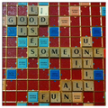 it is all good fun... - scrabble fan art