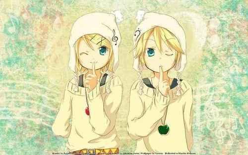 kawaii twins