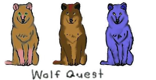lol, mbwa mwitu quest wolves!
