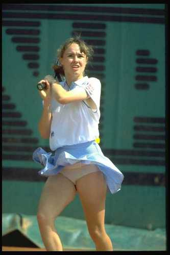 young hingis cul, ass