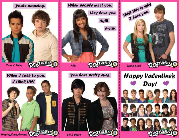 ♥Degrassi Valentines♥