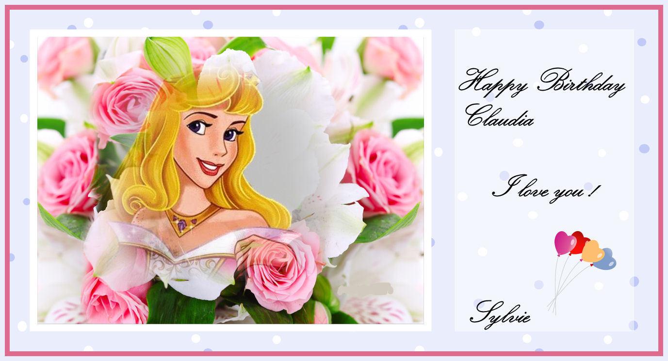 (¯`*•.¸ ಌಌ Happy Birthday Claudia ಌಌ¸.•*´¯)