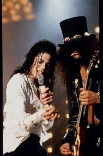 ♥MJJ and Slash♥