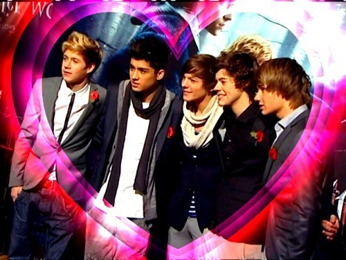 1D = Hearthrobs (I Can't Help Falling In Love Wiv 1D 100% Real :) x