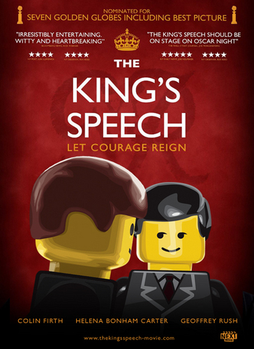 2011 Best Picture Nominees- LEGO Style