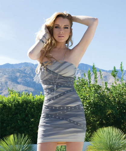 Lindsay Lohan wallpaper probably containing a cocktail dress called 2011