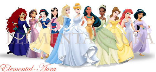 "2012 ""Maybe"" Disney Princess Line-Up - disney-princess Photo"