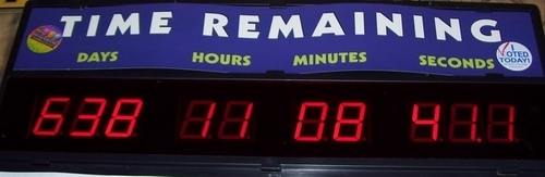U.S. Republican Party Hintergrund entitled A Countdown to Real Change