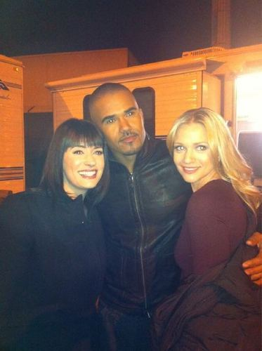 AJ, Paget and Shemar