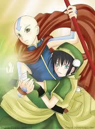 Aang is Toph's prince