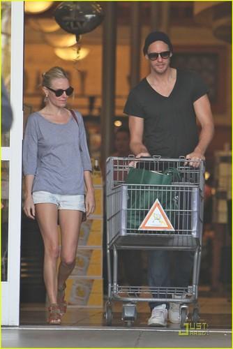 Alexander Skarsgard & Kate Bosworth: supermercato Mates