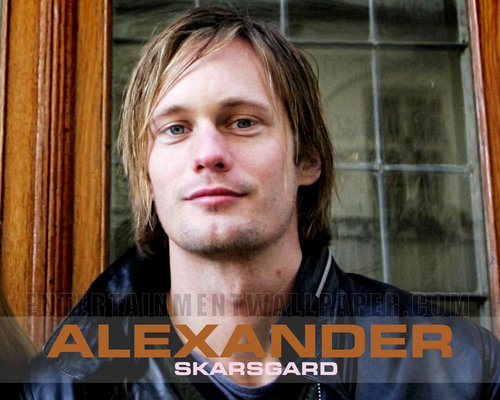 Alexander Skarsgård 壁纸 probably with a portrait titled Alexander Skarsgard