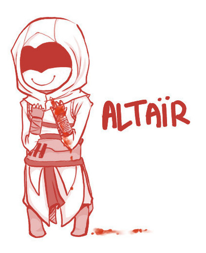 Assassin's Creed wallpaper entitled Altair Chibi