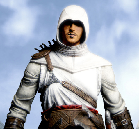 Assassin's Creed wallpaper containing a surcoat, a tabard, and a breastplate entitled Altair