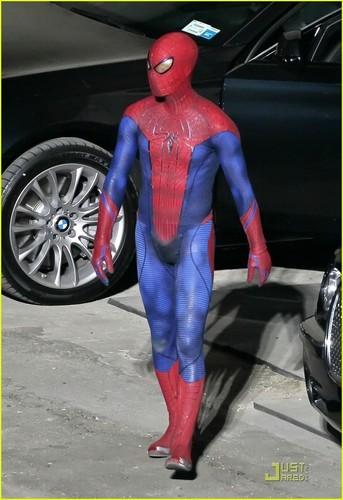 Andrew Garfield: 'Spider-Man' Stunt Man!
