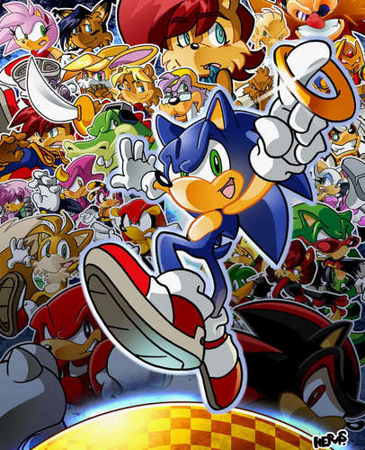 Archie Sonic Characters