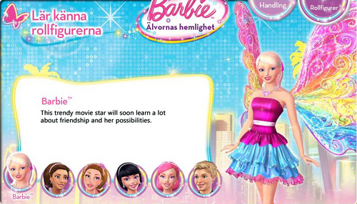 Barbie A Fairy secret- Biography: Barbie