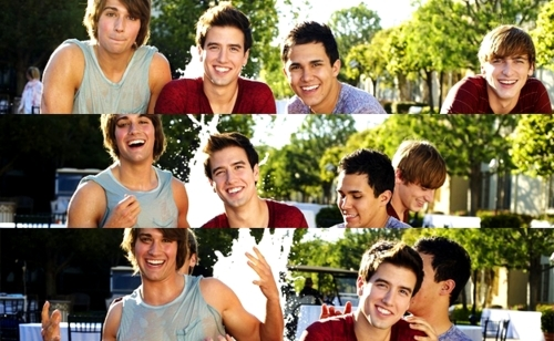 Big Time Rush...even plus wetness!