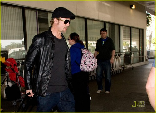Brad Pitt: Back In Black