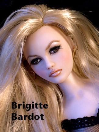 ブリジット・バルドー 壁紙 containing a portrait titled Brgitte Bardot Doll