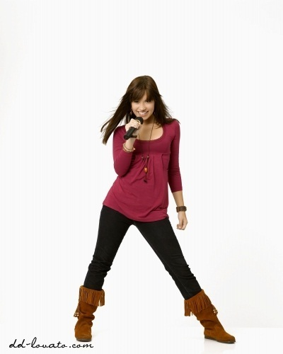 Demi Lovato wallpaper with a legging called Camp Rock Photoshoot