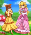 Can I have your autograph!? - princess-peach photo