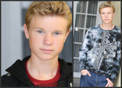 Cody Klop as Peeta?