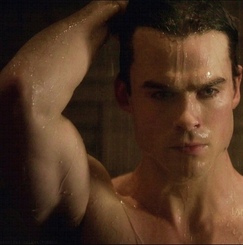 Damon Salvatore wallpaper containing a hot tub called Damon Salvatore ღ