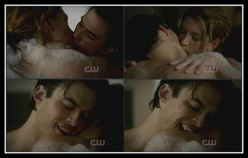 Damon hot scene