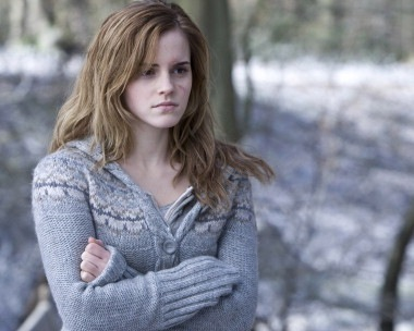 hermione granger fondo de pantalla possibly with a pullover and a cárdigan, chaqueta de punto titled Deathly Hallows