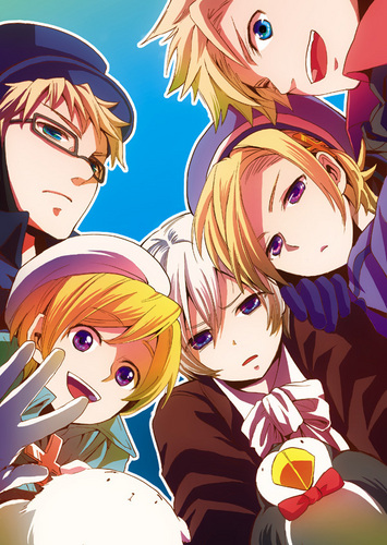 Hetalia wallpaper probably with anime called Denmark, Finland, Iceland, Norway and Sweden