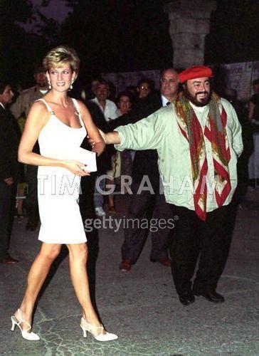Diana And Pavarotti