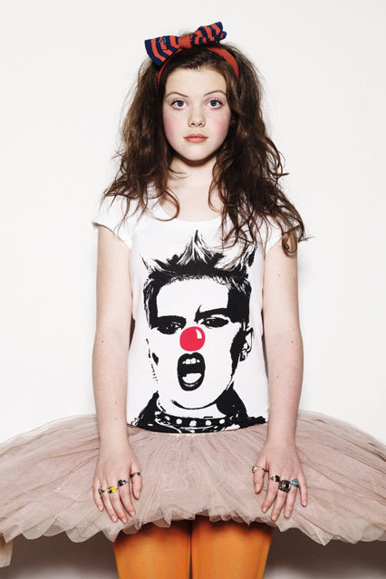 Exclusive Georgie Promotes Comic Relief Georgie Henley As Lucy
