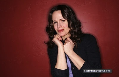 Elizabeth in the Bing Lounge (Sundance 2011).