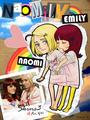 Emily/Naomi fã Art