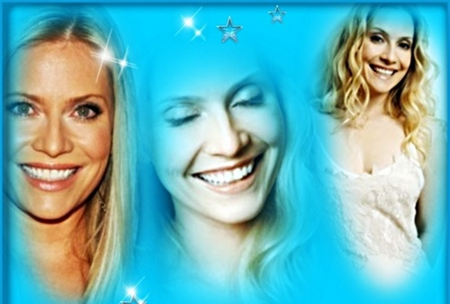 CSI: Miami wallpaper with a portrait entitled Emily Procter-Smile