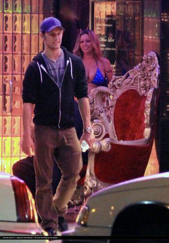 FEB 2, 2011 - Alex Pettyfer Evening / Night out